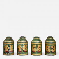 Set of Four English Tea Tins - 1960371