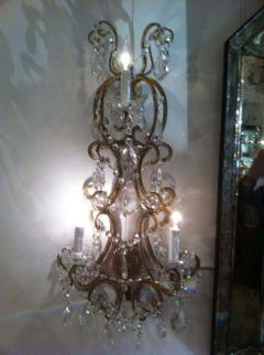Set of Four French 1930 Sconces - 1823759