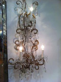 Set of Four French 1930 Sconces - 1823760
