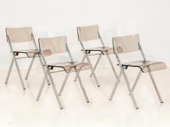 Set of Four Lucite Folding Chairs - 1696465
