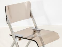 Set of Four Lucite Folding Chairs - 1696469