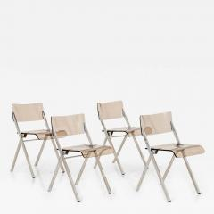 Set of Four Lucite Folding Chairs - 1698424