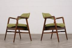 Set of Four Mid Century Modern Style Dining Chairs - 1135403