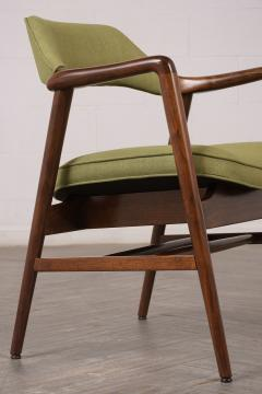 Set of Four Mid Century Modern Style Dining Chairs - 1135406