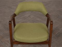 Set of Four Mid Century Modern Style Dining Chairs - 1135407