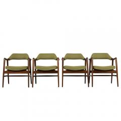 Set of Four Mid Century Modern Style Dining Chairs - 1135414