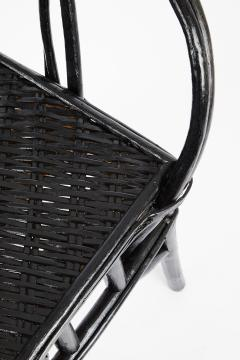 Set of Four Moroccan Wicker Chairs - 1137483