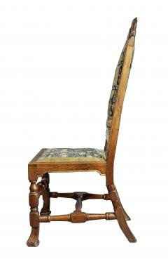 Set of Four Queen Anne Walnut and Parcel Gilt Side Chairs - 1521719