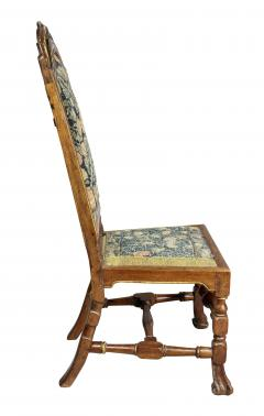 Set of Four Queen Anne Walnut and Parcel Gilt Side Chairs - 1521720