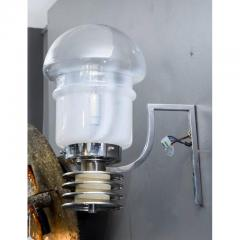 Set of Four Space Age Looking Wall Sconces - 736117