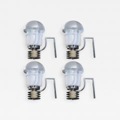 Set of Four Space Age Looking Wall Sconces - 736315