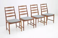 Set of Four Torbj rn Afdal Teak Dining Chairs by Vamo Denmark 1960s - 893901