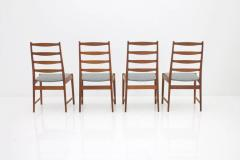 Set of Four Torbj rn Afdal Teak Dining Chairs by Vamo Denmark 1960s - 893902