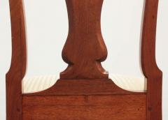Set of Georgian Chairs with Urn Form Splats Queen Anne Style - 1983229