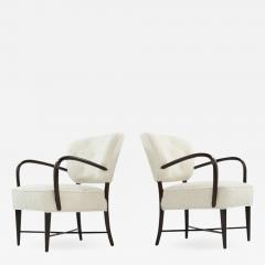 Set of Lounge Chairs in Boucl Italy C 1950s - 1574102