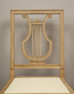 Set of Lyre Back Dining Chairs - 1115852