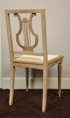 Set of Lyre Back Dining Chairs - 1115859