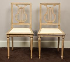Set of Lyre Back Dining Chairs - 1115861