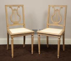 Set of Lyre Back Dining Chairs - 1115862