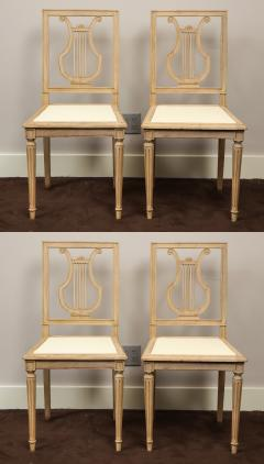 Set of Lyre Back Dining Chairs - 1115863