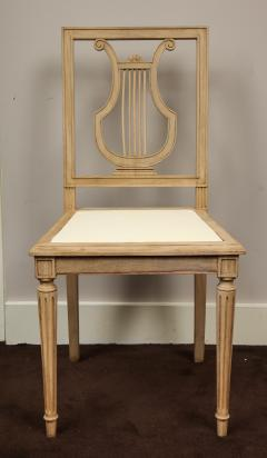 Set of Lyre Back Dining Chairs - 1115864