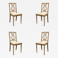 Set of Lyre Back Dining Chairs - 1120672