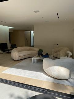 Set of Polar Sofa and Boule Armchairs by Jean Royere - 1663788