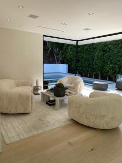 Set of Polar Sofa and Boule Armchairs by Jean Royere - 1663789