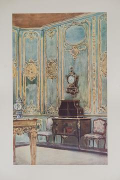 Set of Six Antique Interior Prints - 962657