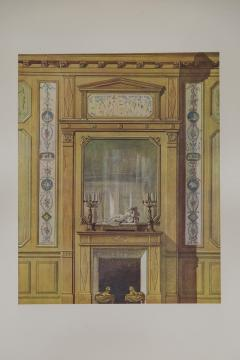 Set of Six Antique Interior Prints - 962661