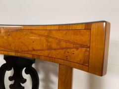 Set of Six Biedermeier Chairs Cherry Veneer and Ash Roots Germany circa 1820 - 1576767