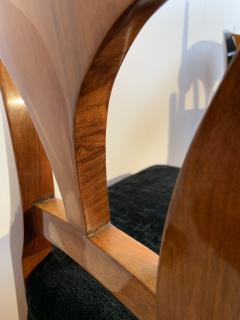Set of Six Biedermeier Shovel Chairs Walnut Veneer South Germany circa 1860 - 1983003