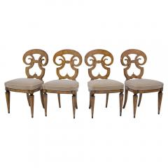 Set of Six Burled Empire Dining Chairs - 1988054
