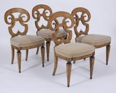 Set of Six Burled Empire Dining Chairs - 1988056