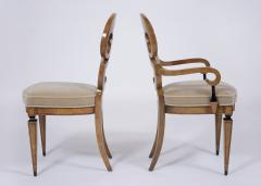 Set of Six Burled Empire Dining Chairs - 1988062