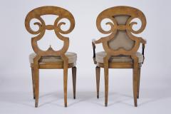 Set of Six Burled Empire Dining Chairs - 1988063
