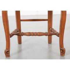 Set of Six French 20th Century Rush Seat Dining Chairs - 1931879