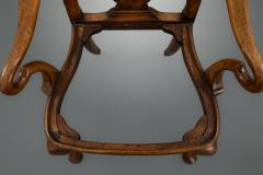 Set of Six George I Revival Walnut Dining Chairs - 1120870