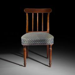 Set of Six George III Mahogany Dining Chairs - 999889