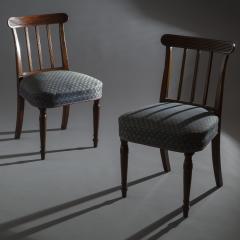 Set of Six George III Mahogany Dining Chairs - 999893