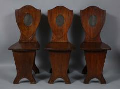 Set of Six Georgian Hall Chairs - 1811397
