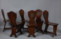 Set of Six Georgian Hall Chairs - 1811399