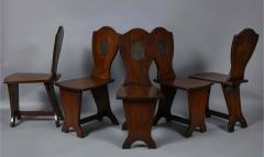 Set of Six Georgian Hall Chairs - 1811400