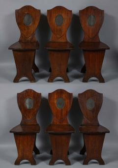 Set of Six Georgian Hall Chairs - 1811401