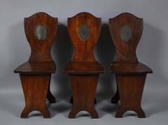 Set of Six Georgian Hall Chairs - 1811402
