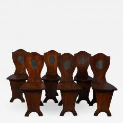 Set of Six Georgian Hall Chairs - 1812894