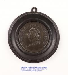 Set of Six Grand Tour Spelter Medallions Mid 19th c  - 1220336