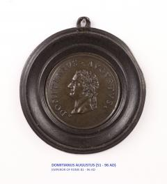 Set of Six Grand Tour Spelter Medallions Mid 19th c  - 1220338