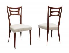 Set of Six Italian Modernist Dining Chairs - 1591923