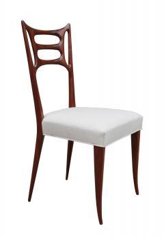 Set of Six Italian Modernist Dining Chairs - 1591924